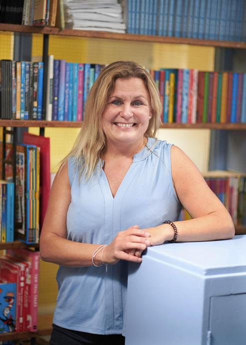 Mrs Hart, Class 5