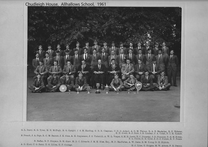 Chudleigh House 1961