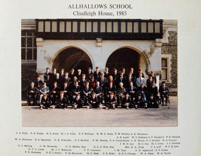Chudleigh House 1985