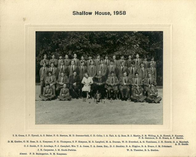 Shallow House 1958