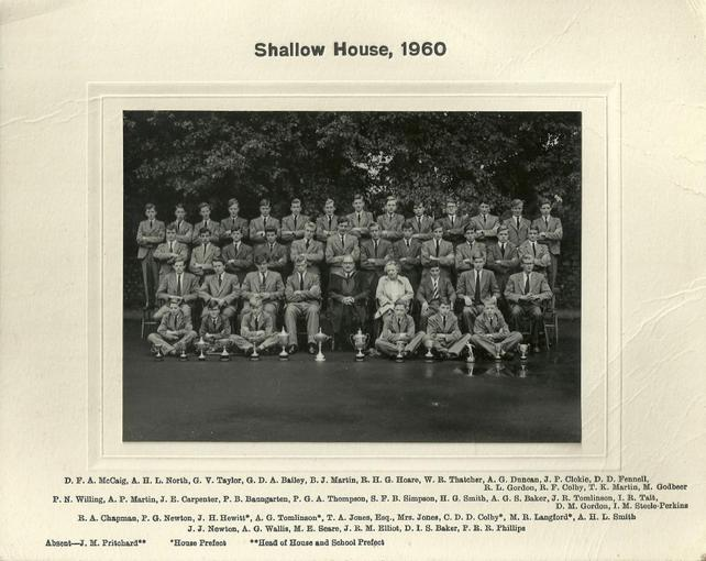 Shallow House 1960