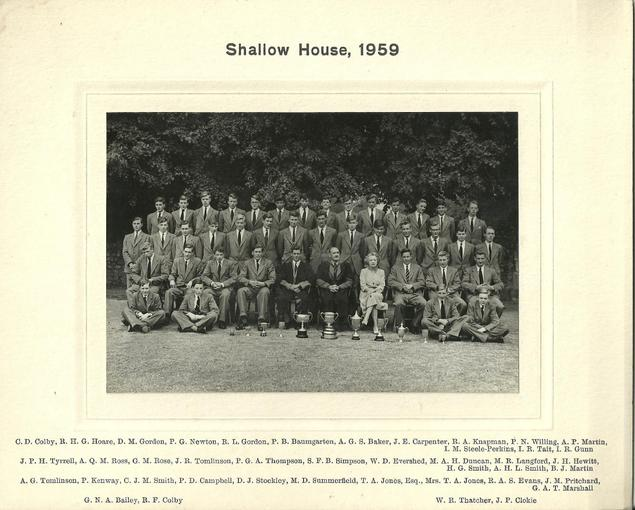 Shallow House 1959