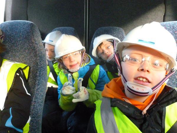 Health & Safety! Googles, helmets & gloves