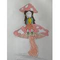 Mythical creature art homework