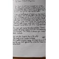 Amy- Lea's Titantic Writing