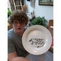 Superb plate art