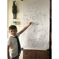 Class 3 's very own weather man