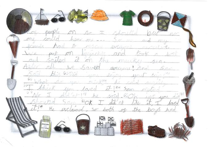 Story year 3 - Oliver page 2