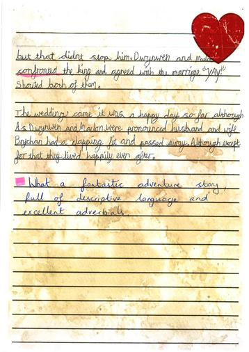 Story year 4 - Will page 3