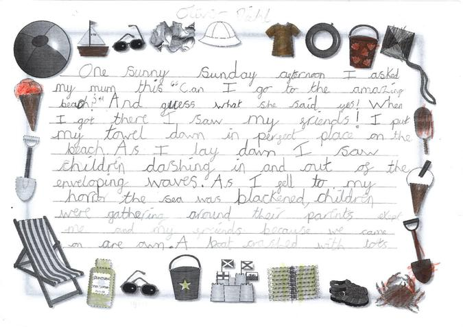 Story year 3 - Oliver page 1