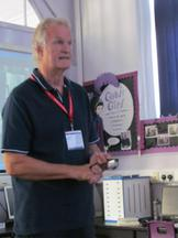 Clive Mantle - Author visit for Year 6 and Year 3 2