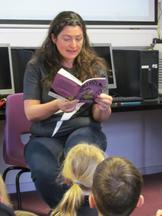 Author visit for Year 3 and 4 - Rachel Delahaye 4