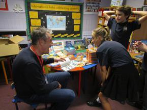 Patron of Reading visit - Stewart Foster 4