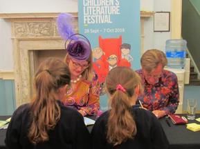 Trips to Bath Children's Literature Festival 2