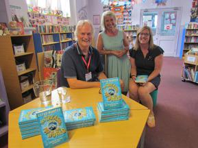 Clive Mantle - Author visit for Year 6 and Year 3 1