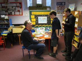 Patron of Reading visit - Stewart Foster 6