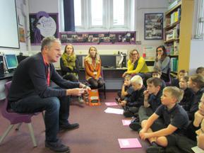 Patron of Reading visit - Stewart Foster 3