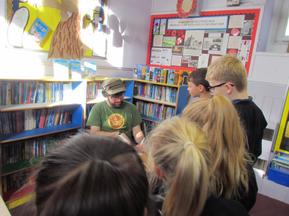 Andy Stanton visit for the whole school 6