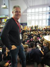 Patron of Reading visit - Stewart Foster 1