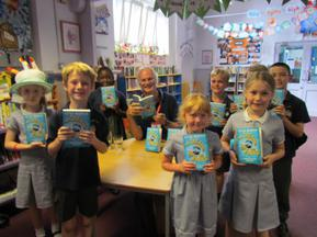Clive Mantle - Author visit for Year 6 and Year 3 3