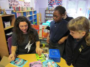 Author visit for Year 3 and 4 - Rachel Delahaye 5