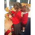 Exploring magnets and colour and light activities