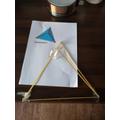 A tetrahedron!