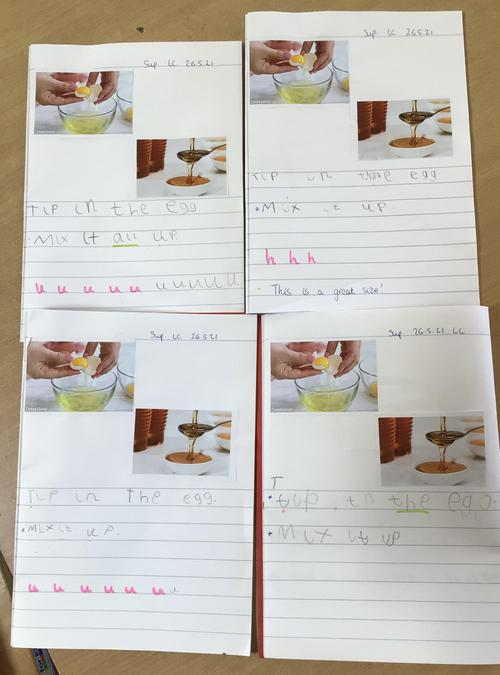 Look at our fantastic writing!