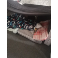 What a cosy den Tyler made!