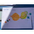 and made some super drawings of the planets.