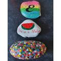 Emily's beautiful pebbles.