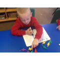 Addition with counting dinosaurs