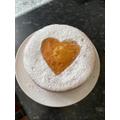 Cassie made this scrumptious cake...