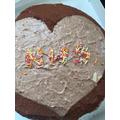 Dimitar's tasty NHS cake.