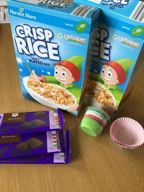 Rice Crispy cakes!