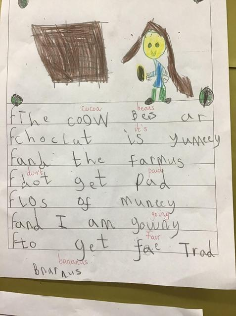 More writing from FS!