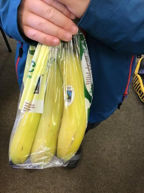 Fair Trade bananas!