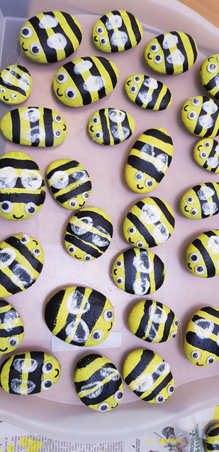 Finished bees
