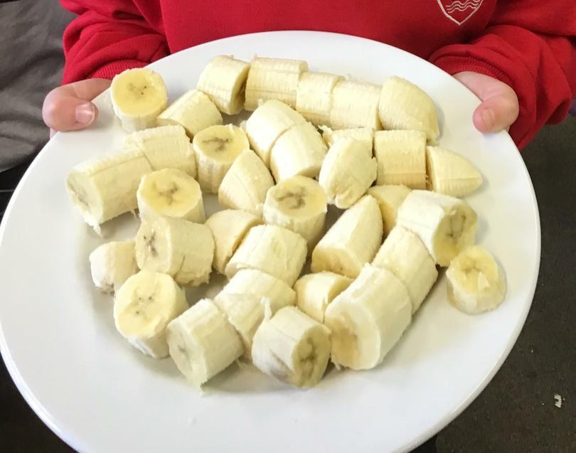 Fair Trade banana tasting!