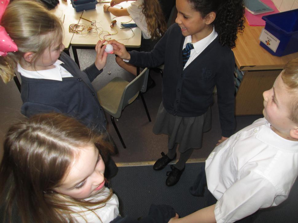 We made human circuits with an energy ball!