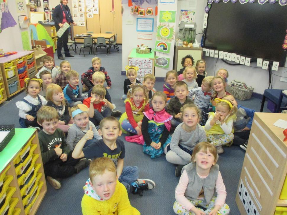 We enjoyed raising money for Children in Need.