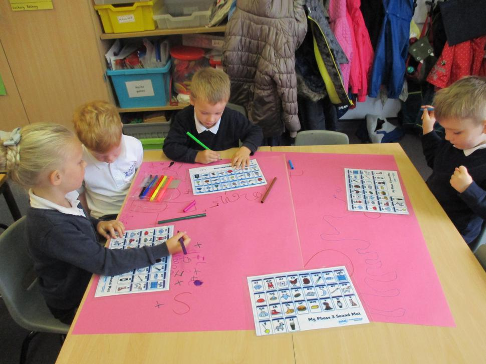 We have been writing lots of letters