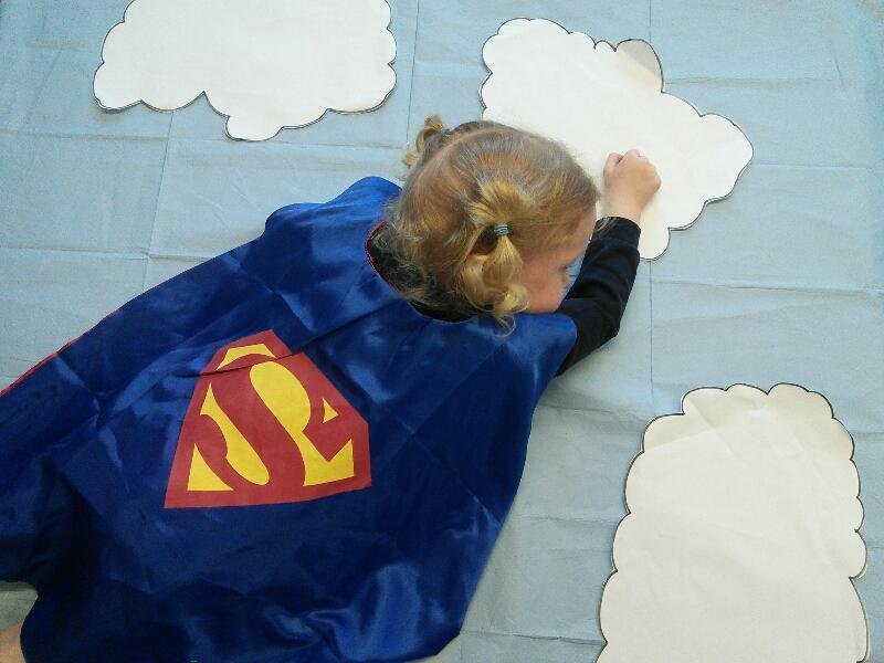 We all made great superheroes.