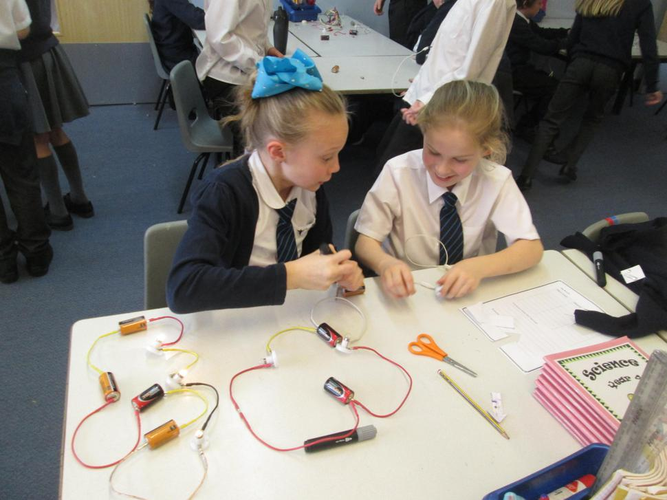 We used circuit diagrams to help us make circuits