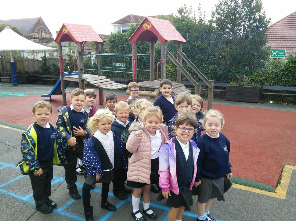 We have been taking a tour around school