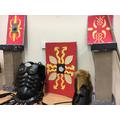 Roman Artifacts Display