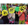 Rainforest animal masks