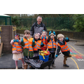 Our first patrol - Robin Class litter duty 9/2/16