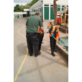 Squirrel Class - sweeping & tidying 17/5/16