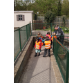 Owl Class - Checking for litter 26/4/16